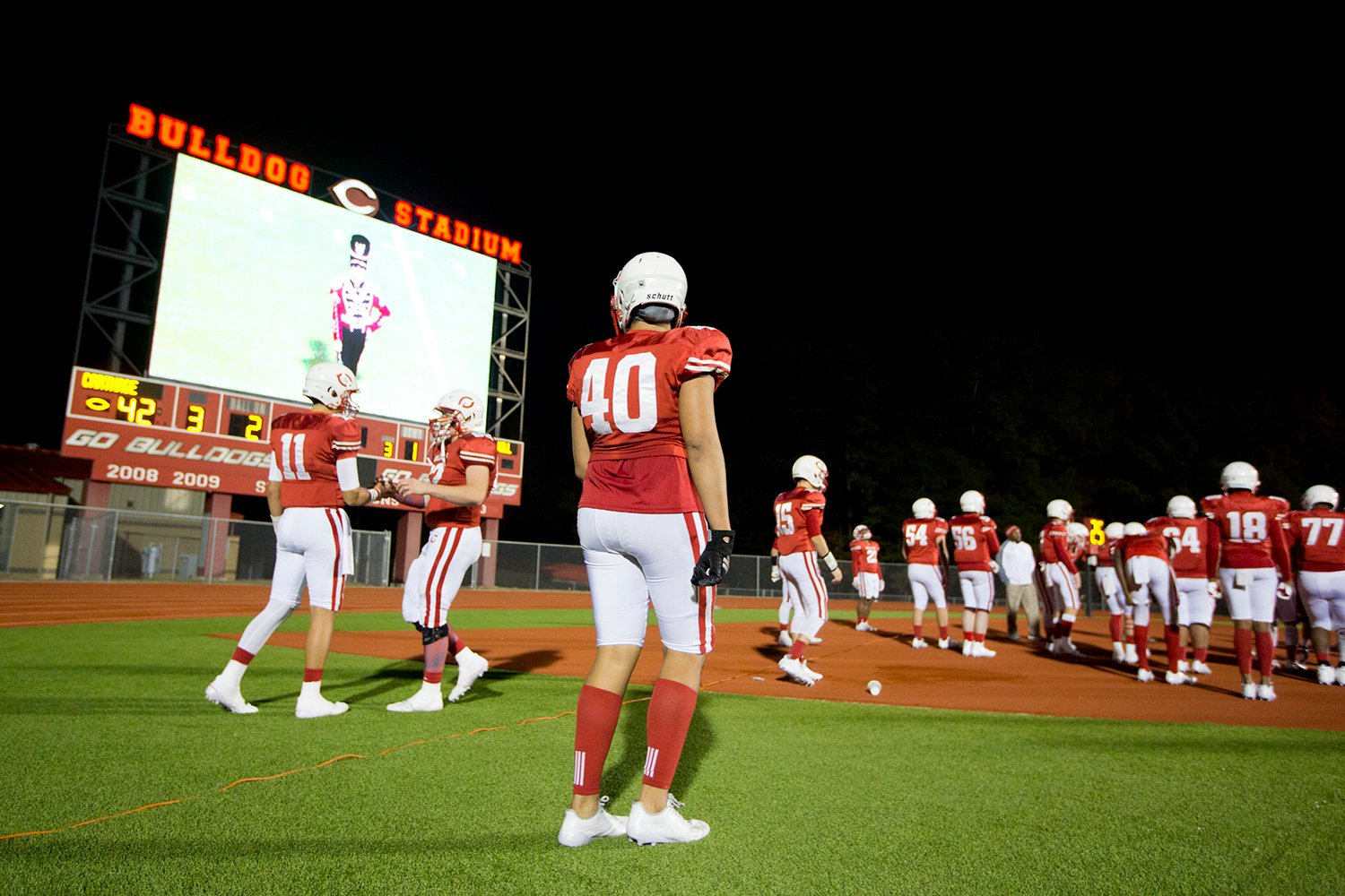 Carthage ISD voters agreed to a tax hike to pay for this $750,000 Jumbotron.