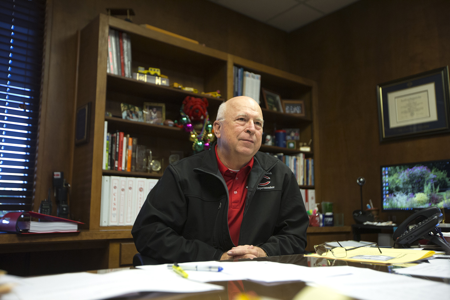 Superintendent Hambrick said the athletic director paid for his own raise by making the football program lucrative.