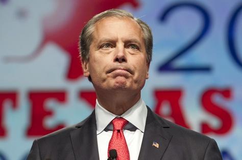 Lt. Gov. David Dewhurst speaking at the state Republican convention on June 8, 2012.