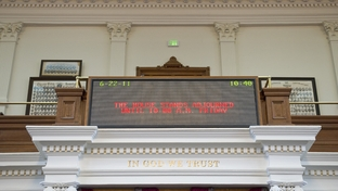 The Texas House adjourned until Friday morning after meeting for about a half-hour on Wednesday, June 22, 2011.