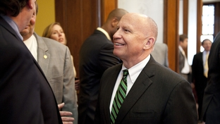U.S. Congressman Kevin Brady, District 8 of Texas, visits the floor of the Texas House on May 19, 2011.