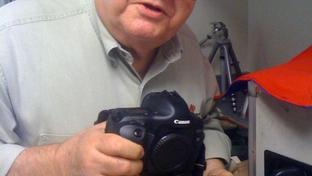 Longtime AP photographer Harry Cabluck on November 17, 2009.