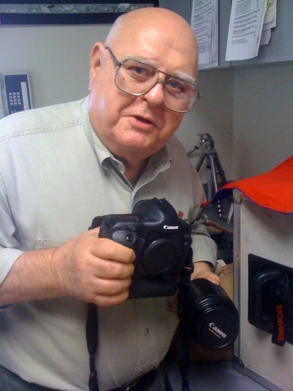 Longtime AP photographer Harry Cabluck on November 17, 2009.