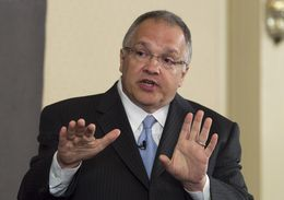 State Sen. John Carona, R-Dallas, at a TribLive event on May 24, 2012.
