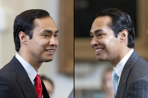 Joaquin (left) and Julian (right) Castro.