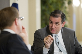 Former Texas Solicitor General Ted Cruz, a candidate for U.S. Senate, at a TribLive event on Sept. 9, 2011.