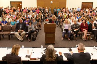Texas Department of State Health Services holds public hearing on rule to exclude Planned Parenthood from Woman's Health Program - September 4th, 2012