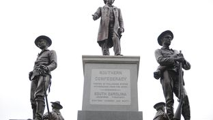 Confederate Soldiers Monument  at the Texas Capitol