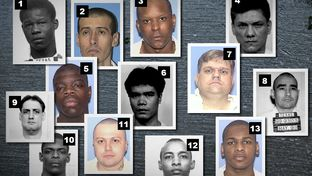 Dr. George Denkowski conducted psychological exams for more than a dozen current death row inmates. 1) Anthony Pierce 2) Virgilio Maldonado 3) Calvin Hunter 4) John Matamoros 5) Derrick Charles 6) Kim Ly Lim 7) Coy Wesbrook 8) Joel Escobedo 9) Jamie McCoskey 10) Warren Rivers 11) Tomas Gallo 12) Steven Butler 13) Alfred Brown