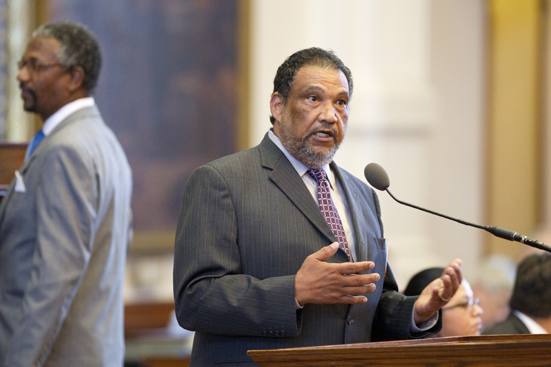 State Rep. Joe Deshotel, D-Port Arthur, urges House members to vote against bringing up the TSA bill HB29 laid out by State Rep. David Simpson on the last day of the special session on June 29, 2011.