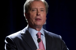 Lt. Gov. David Dewhurst at a U.S. Senate candidate debate on Jan. 12, 2012, in Austin.