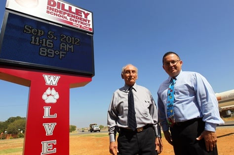 In Dilley ISD, southwest of San Antonio, business manager Elpidio Mata and Superintendent Nobert Rodriguez have seen property values balloon to about $275 million from $130 million two years ago.