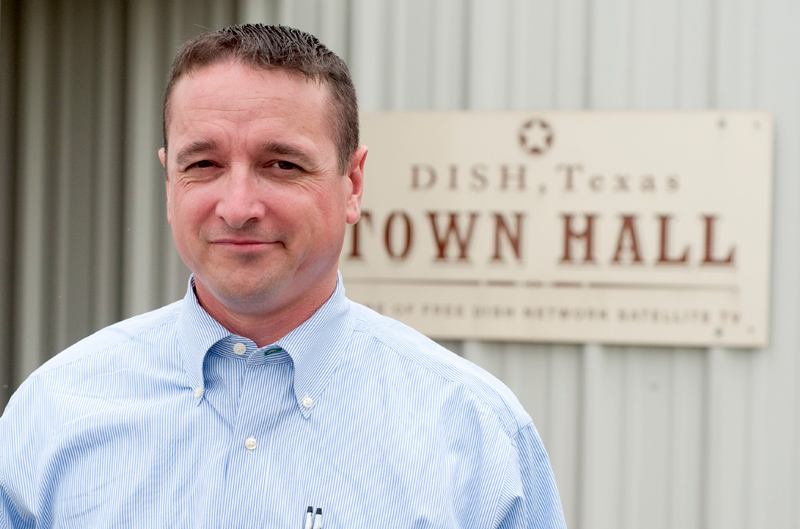 Calvin Tillman, Mayor of Dish, Texas