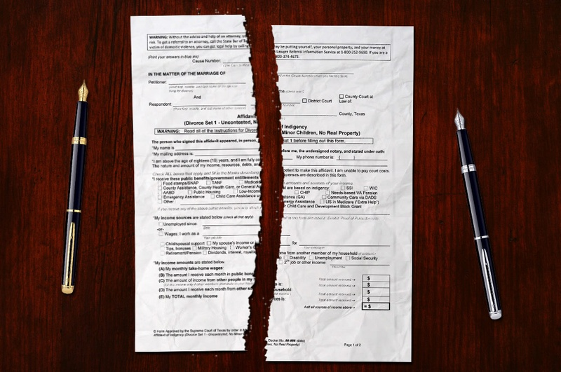 New Forms Allow Couples to Divorce Without Attorney – Divorce Form