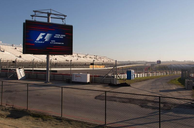 Circuit of the Americas stadium - November 18, 2012.