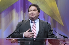 Blake Farenthold speaks at the state Republican convention in Dallas on June 12, 2010.