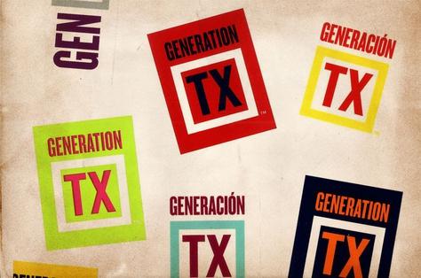 """Generation TX"" stickers"