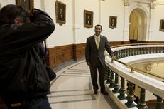 George P. Bush at the state Capitol on Jan. 7, 2013, the day before the beginning of the 83rd session.