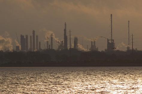 Houston Ship Channel - March 16, 2012,  Baytown, TX