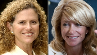 State Rep. Donna Howard, D-Austin and state Sen. Wendy Davis, D-Fort Worth.