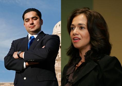 J.M. Lozano and Tara Rios Ybarra