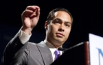 San Antonio Mayor Julián Castro delivering a speech to the National Association of Latino Elected and Appointed Officials on June 23, 2011.