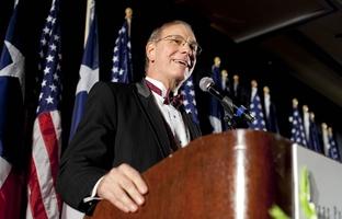 Dr. James Leininger at an Austin reception on Sept. 11th, 2009