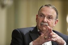 R. Bowen Loftin, president of Texas A&M University, at TribLive on April 28, 2011.