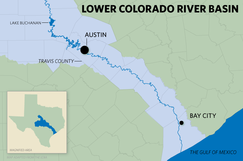Dwindling Lakes Growing Water Demand in Central Texas  The Texas