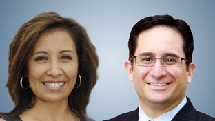 State Rep. Diana Maldonado, D-Round Rock, and Republican challenger Larry Gonzales.