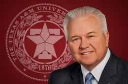 Former Texas A&M University System Chancellor Mike McKinney.