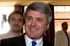 Congressman Michael McCaul at the Texas Capitol on Feb. 23, 2011.