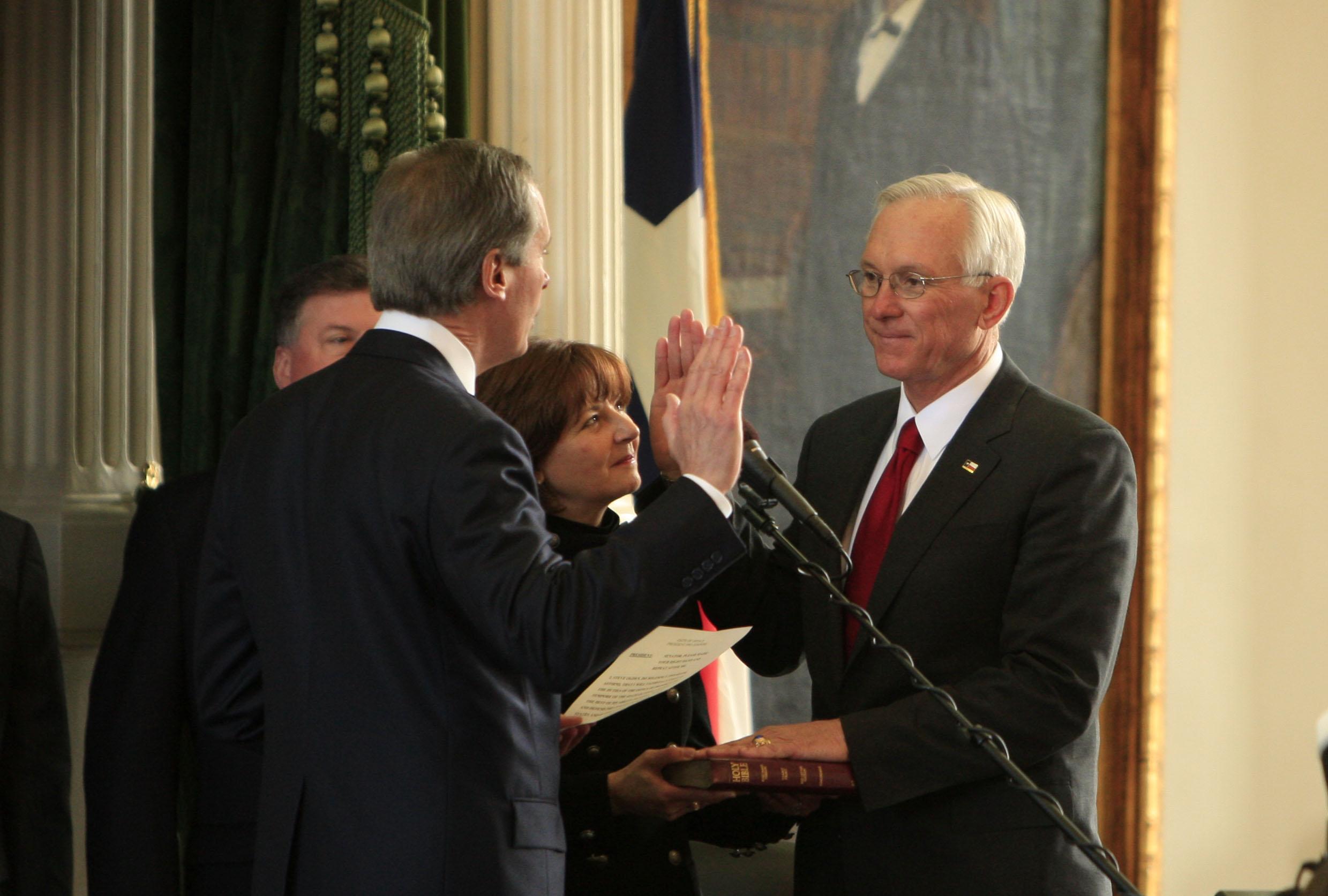 Senator Ogden sworn in as Senate President.