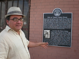 David Romo gives a tour of El Paso just north of the Mexican border.