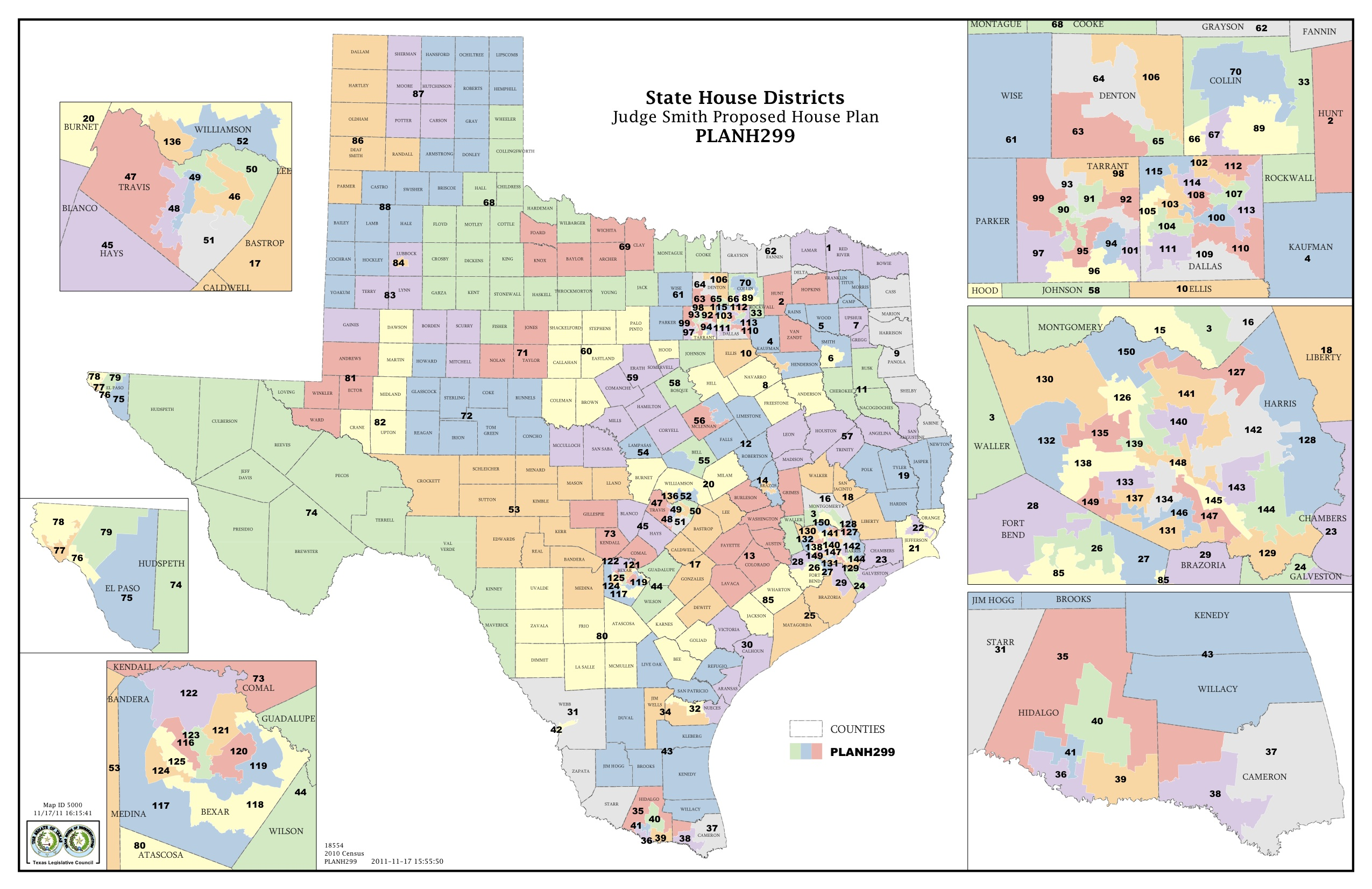 Map Of Texas 99.Federal Judges Propose Maps For Texas Legislative Races The Texas