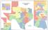 Senate Redistricting map proposed by Sen. Kel Seliger, R-Amarillo.
