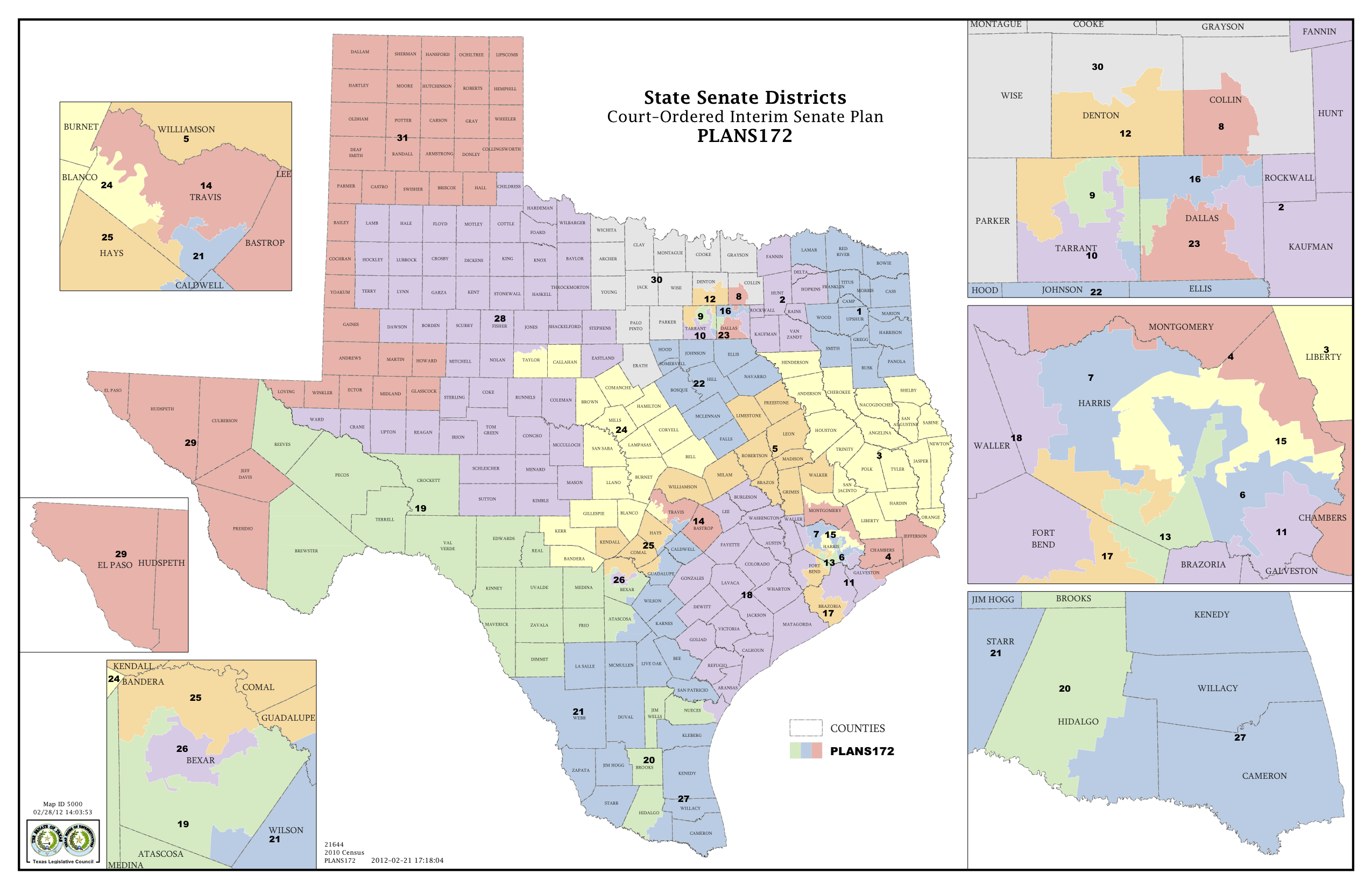 Court Delivers Election Maps for Texas House Congress  The Texas