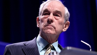 U.S. Rep. Ron Paul at the 2011 Conservative Political Action Conference in Washington, D.C.