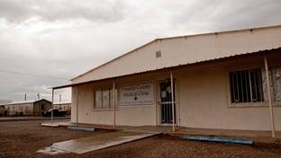 Medical clinic in Presidio, Texas.