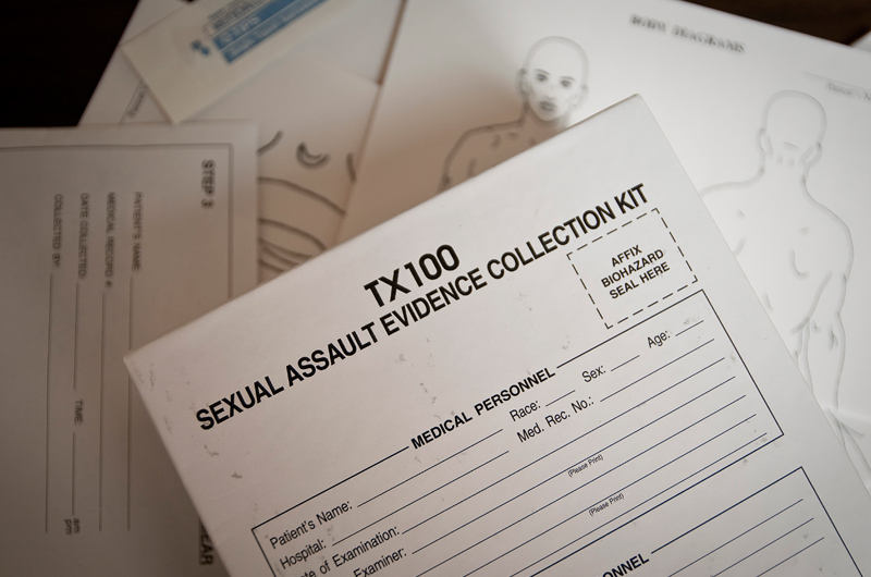 A Sexual Assault Evidence Collection Kit