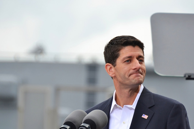 Now the U.S. House Speaker, Paul Ryan, a Wisconsin Republican, is shown in 2012.