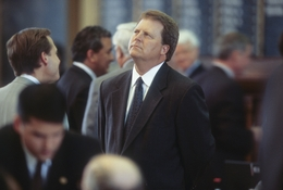 Former State Rep. Paul Sadler, D-Henderson, shown here at the Texas Capitol in May, 2001, has announced a run for U.S. Senate.