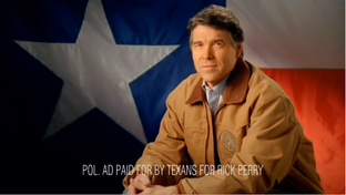 "Screenshot of Rick Perry's ""Tenth Amendment."""