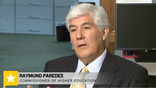 Texas Higher Education Chairman Raymund Paredes.