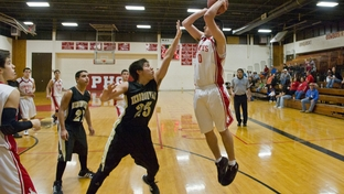 The Premont High School Cowboys beat the Hebronville Longhorns 44 to 39 in Tuesday's game which was the last basketball game for Premont.  Premont ISD is terminating its athletics programs to save money and focus on academics as it tries to meet drastic improvements required by the state.
