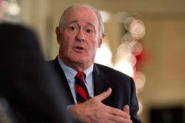 State Sen. Kel Seliger, R-Amarillo, at Triblive on Dec. 6, 2012.