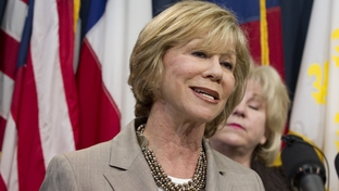 Sen. Florence Shapiro, R-Plano, speaks to the press on Senate support for Texas teachers and classrooms on March 23, 2011.