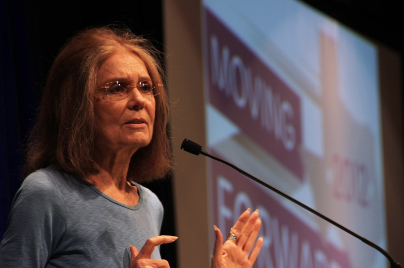 Gloria Steinem speaks at the Texas Council on Family Violence 2012 Statewide Convention.