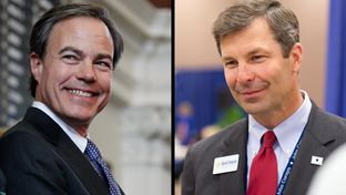 Rep. David Simpson and Rep. Joe Straus are running for Speaker of the House.