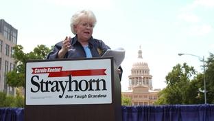 Carol Strayhorn announces for governor, June, 2005.